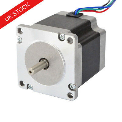 Nema 23 Stepper Motor Bipolar 0.9deg 1.26Nm 2.8A 56mm Length 4 Wires 3D Printer