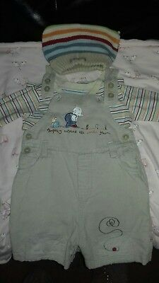 humphreys corner baby boy outfit  9-12   great condtion dungress go to knee