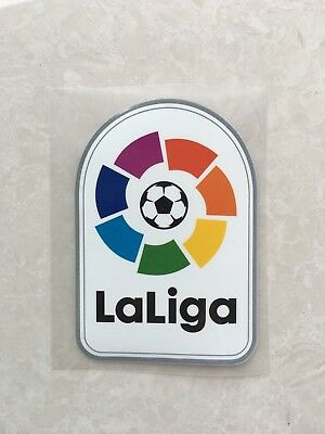 2016-2017 Spain LFP La Liga LaLiga Patch Badge Parche For Barcelona Real Madrid