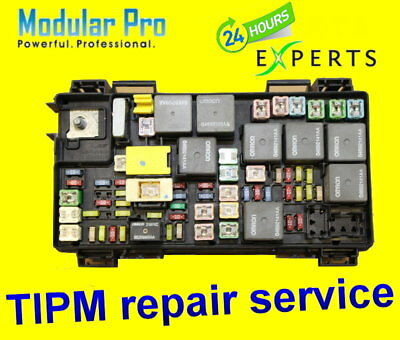 2011 Chrysler Town&Country TIPM Fuel Pump Relay Repair/Replacement Service