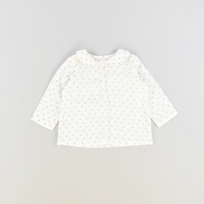 Blusa color Blanco marca Tex 6 Meses  506319