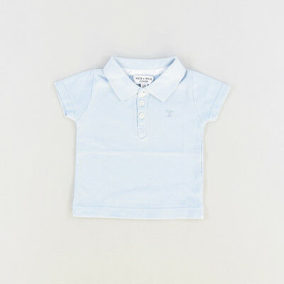 Polo color Azul marca Neck & Neck 12 Meses  506385