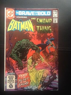 Brave And The Bold #176 July 1981 Batman & Swamp Thing