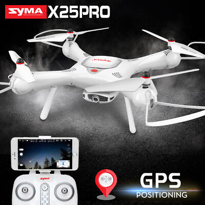GPS RC Quadcopter Drone Syma X25PRO Follow Me FPV Real Time Selfie 720P Camera