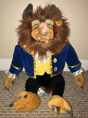 Beauty And The Beast Beast Soft Toy