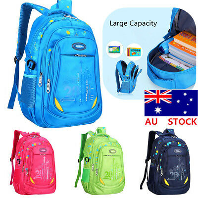 Nylon Kids Backpack Children Boys Girls Middle Primary School Bags Rucksack