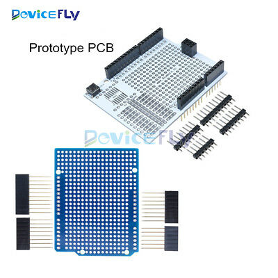 DIY Prototype PCB Protoshield for Arduino UNO R3 Mega 1280 2560 328 Shield Board