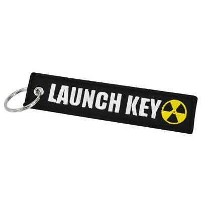 LAUCH KEY Keychain Keyring Embroidery Luggage Tag Motorcycle Key Chain Ring