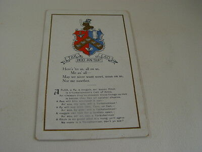 OTH632 - Postcard - Tak Hod An Sup Lad, Yorkshire Coat of Arms