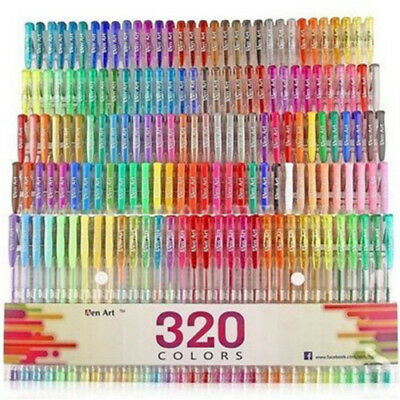 48 Colors Gel Refills Coloring Sketch Drawing Painting Markers Stationery hu