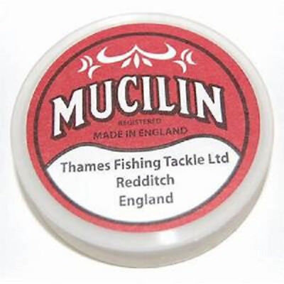 Mucilin Solid Floatant (Red Tub) Line Grease / Fly Floatant