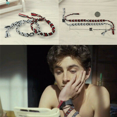 Call Me by Your Name André Aciman Andre CMBYN Elio Chain Bracelet Be Lover 2PCS