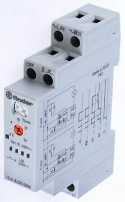 Finder SPNO Non-Latching Relay DIN Rail, 240V ac Coil, 16 A Multifunction