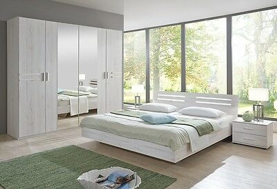 Qmax 'Suzie' Range. German Made Bedroom Furniture. White Oak.