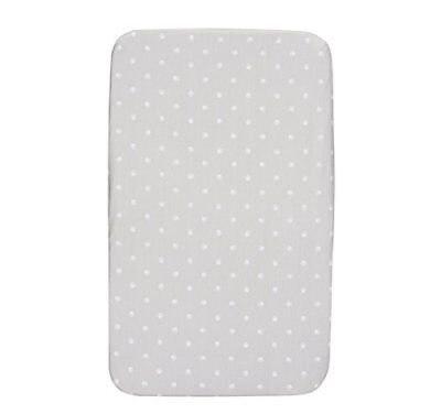 Chicco Next2Me Pair Fitted Crib Sheets, Silver