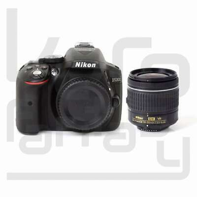 Autentico Nikon D5300 Digital SLR Camera +AF-P DX 18-55mm f/3.5-5.6G VR Lens Kit