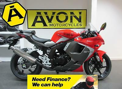 Hyosung GT125R Supersport Motorcycle - Pre Reg 66 Plate - Avon Motorcycles