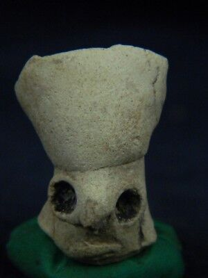 Ancient Teracotta Mother Goddess Head Indus Valley 2000 BC  #TR7764