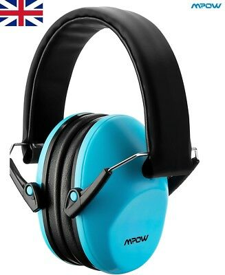 Mpow Earmuffs Comfortable NRR 25dB Noise Reduction Rotatable Kid Hear Protection
