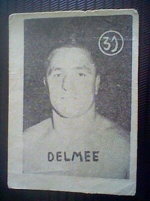 Delmee  Spanish Card 50´S Fight And Boxing Wrestling Spain  Card Nr 31