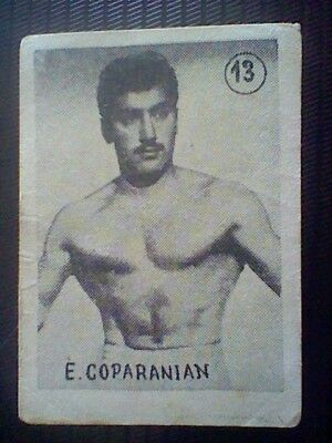 Coparanian  Spanish Card 50´S Fight And Boxing Wrestling Spain  Card Nr 54