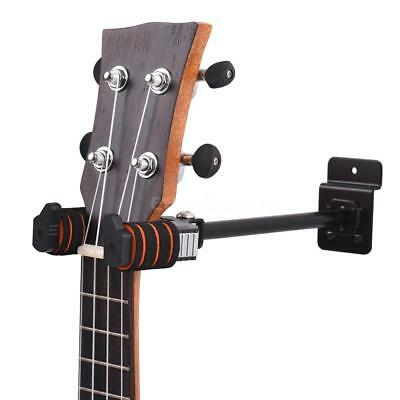 Violin Hanger Hook Ukulele Guitar Wall Mount Stand Display Holder Bracket S9K1