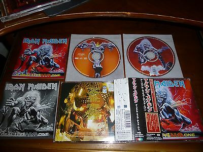 Iron Maiden / A Real Live Dead One JAPAN 2CDBOX Remastered'98 TOCP-50702/03 B4