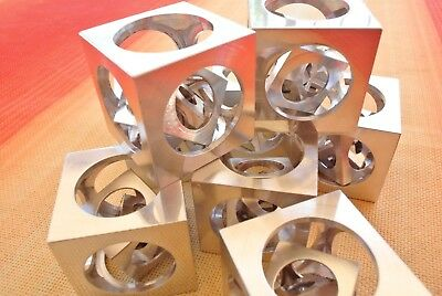 """Three Cubes in a Cube, the famous Turner's Cube puzzle, 25mm or 1"""" size"""