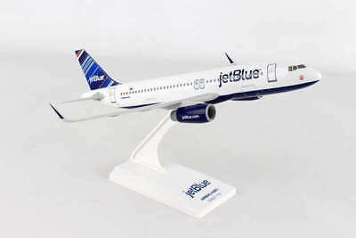 Skymarks Jetblue (Barcode Tail) Airbus A320 1/150 Scale Model with Stand