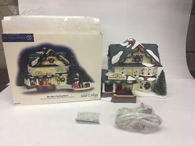 Department 56 The Original Snow Village 'miss Mae's Rooming House'