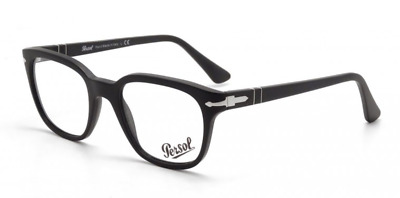 Authentic PERSOL 3093V - 9000 Eyeglasses Black *NEW* 48mm