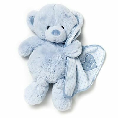 New Nat and Jules Blue My First Teddy Bear Plush Toy