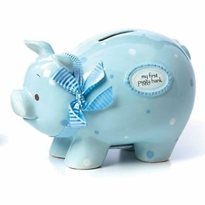 New Nat and Jules Blue My First Piggy Bank