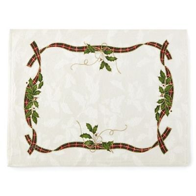 New Lenox Holiday Nouveau Multi-Colored Set Of 4 Placemats