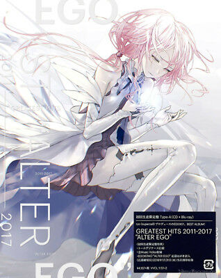(DHL) EGOIST GREATEST HITS 2011-2017 ALTER EGO CD+Blu-ray Limited Edition Type A