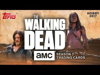 2017 Topps Walking Dead Season 7 Sepia Auto Insert Parallel Cards Pick From List