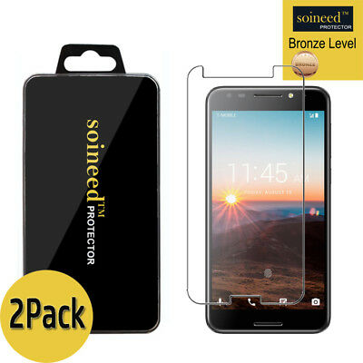 "[2-Pack] SOINEED Tempered Glass Screen Protector Film For "" T-Mobile REVVL"""