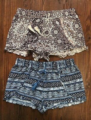 Girls Size Large 11/13  Shorts Clothing Lot (No Boundaries ) Spring Summer