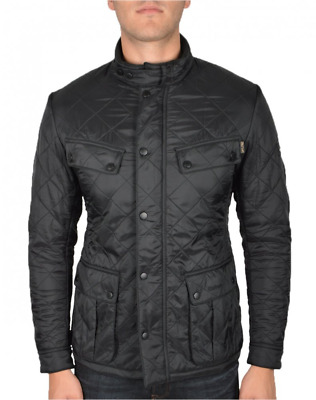 Barbour International Men's Black ARIEL Polarquilt Jacket sz XL