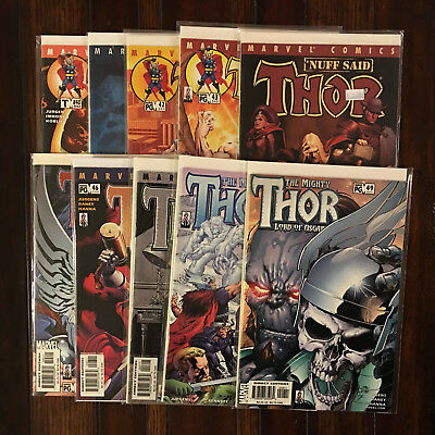 MARVEL THE MIGHTY THOR (vol 2 1998) 40 41 42 43 44 45 46 47 48 And 49 VF/NM