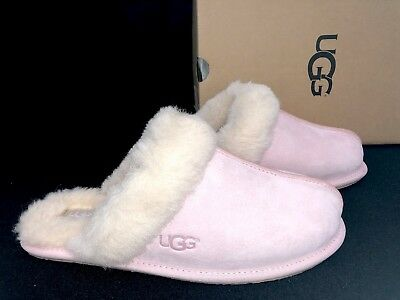 355e098ba1a Ugg Australia Scuffette II Seashell Pink Slippers Sheepskin Slip On Shoes  5661