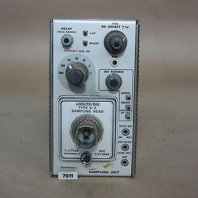 Tektronix 7S11 SAMPLING UNIT Module for 7000 Series Oscilloscope