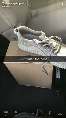 32e5fbe9302 Adidas Yeezy Boost 350 V1 Oxford Tan Kanye West 100% authentic AQ2661 Mens  8.5