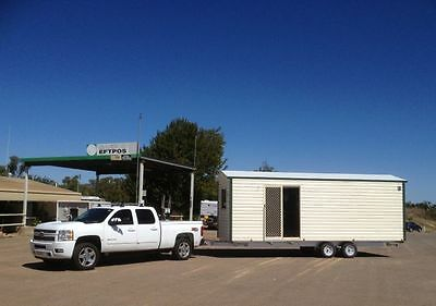 Granny Flat, Mobile Relocatable Portable Tiny Home, Cabin, Site Office,