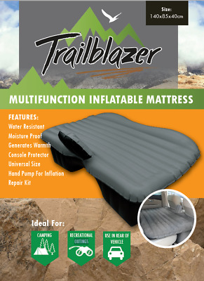 Inflatable Car Rear Back Seat Mattress Portable Travel Camping Air Bed
