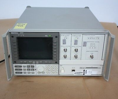 Agilent HP Hewlett Packard 70004A Spectrum Analyzer  70900B opt 512 IF 70903B