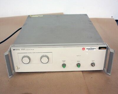 Keysight Agilent HP Hewlett Packard 8509B LIGHTWAVE POLARIZATION ANALYZER