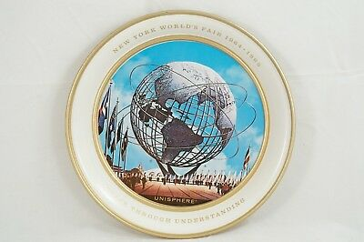USS UNISPHERE Tray 1964 1965 NYWF New York World's Fair tip trinket coin jewelry