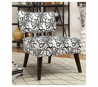 Fine Acme Able White Fabric Accent Chair 145 00 Picclick Lamtechconsult Wood Chair Design Ideas Lamtechconsultcom