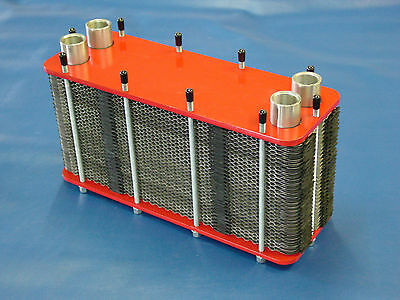 120kW Stainless Steel Plate Heat Exchanger m3-54-50-a2 Demountable Sealed